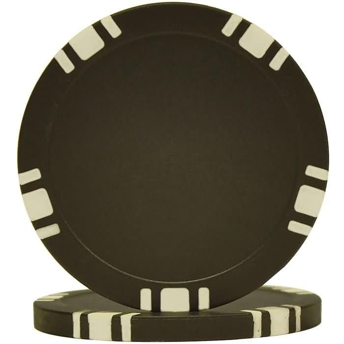 11.5g  5 Spot Blank Poker Chip