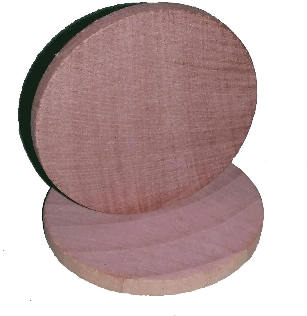 Wooden Nickel Blank Flat Edges